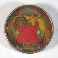 1910's+HAND+HELD+EARLY+AUTOMOBILE+DEXTERITY+PUZZLE+TOY+GAME+-+OPEN+AIR+ROADSTER+