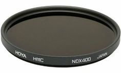 Hoya 58mm Neutral Density ND-400 X, 9 Stop Multi-Coated Glass Filter by Hoya. $43.27. Photographing solar eclipses and ultra-bright light sources can be extremely dangerous. This filter reduces light values by 9 stops to less than 1/500th of its original intensity and allows safe photography. It can also be used to achieve super slow shutter speeds in daylight to render moving subjects invisible, and will enable you to use slow shutter speeds, especially with high sp...