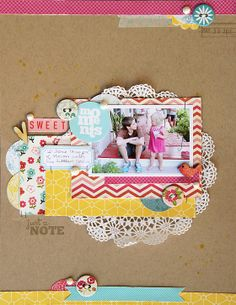 #papercraft #scrapbook #layout  deb duty {photography + scrapbooking}: a few more layouts