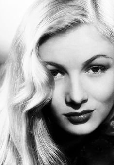 Movie star Veronica Lake (born Constance Frances Marie Ockelman, 12/14/22- 7/7/73)