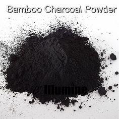 BULK Black Color Bamboo Charcoal Powder DIY Materials For Skin Care Makeup Handmade Soap Powder