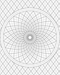 Mandalas Mandala Coloring Pages Book Printable