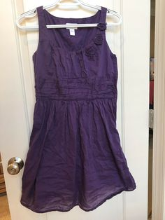 df4ef162abab Ann Taylor LOFT Women's Purple Sleeveless Dress Size 2 #fashion #clothing  #shoes #accessories #womensclothing #dresses (ebay link)