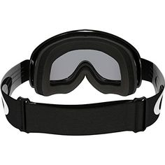 Oakley O-Frame MX Sand Adult Off-Road Motorcycle Goggles Eyewear – Jet Black/Grey / One Size Fits All
