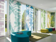 Paneelgordijnen: Modern design met creatieve mogelijkheden. De combinaties van deze productlijn zijn oneindig. Ontwerp je eigen Luxaflex® Paneelgordijn in onze Imagine Studio. http://imagine-studio.luxaflex.nl/