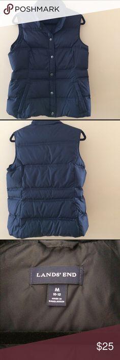 Land's End down vest size medium NWOT women's down vest smoke free home. Bundle to save more Land's End Jackets & Coats Vests