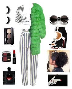 """Shter.com"" by katarinasterenberg on Polyvore featuring мода, Topshop, Christian Dior, Charlotte Olympia, Christian Louboutin, Lancôme, Yves Saint Laurent, Edward Bess и Smashbox"