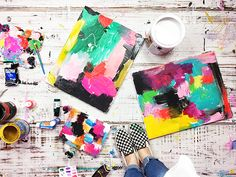 making art on a budget Alisa Burke, Craft Paint, Acrylic Pouring, Art Tips, Mixed Media Art, Creative Art, Budgeting, Street Art, Art Pieces