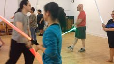 Maybe he just likes #killing... #lightsaber mini #gauntlet session at Thursday's #class #starwars #stagecombat #Jedi #Sith #sithlife