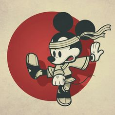 Kung fu mickey