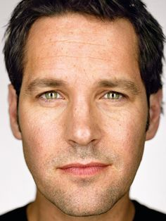 Paul Rudd by Martin Schoeller. Martin Schoeller, Jake Gyllenhaal, Ryan Reynolds, Famous Men, Famous Faces, Annie Leibovitz, Robert Downey, Scott Lang, Celebrity Portraits