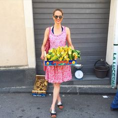 A lovely Sicilian man was surreptitiously selling these bursting zucchini flowers off the hood of his car. #SureBeatsFakeHandbags