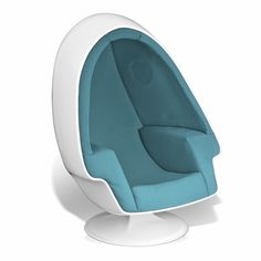 Stereo Alpha Egg Chair - Exclusively at Inmod, the modPod Egg Chair is a must-have. Paying homage to the Lee West classic Stereo Alpha Chair, this inspired reproduction . Pod Chair, Tactile Stimulation, Sound Isolation, Sensory Deprivation, White Leather Dining Chairs, Farmhouse Table Chairs, Led Furniture, Office Chair Without Wheels, Audio Room
