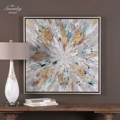 10 Abstract Canvas Wall Art Ideas Uttermost Art Hand Painted Canvas Abstract
