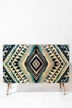 Amy Sia Indigo Stripe Credenza | DENY Designs Home Accessories