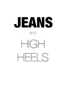April and May  YOU'VE GOT STYLE   JEANS AND HIGH HEELSvar ultimaFecha = '11.8.13'