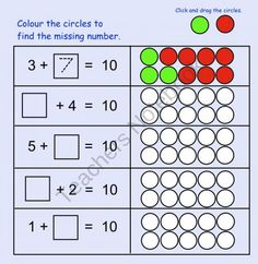 Find the Missing Number Interactive Smartboard file product from Teaching-The-Smart-Way on TeachersNotebook.com