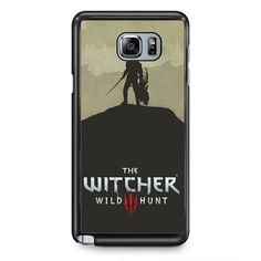 The Witcher Game TATUM-11150 Samsung Phonecase Cover Samsung Galaxy Note 2 Note 3 Note 4 Note 5 Note Edge