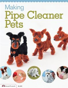 Making Pipe Cleaner Pets http;//book-a-cleaners.co.uk                                                                                                                                                      Mehr