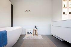 Badkamerinspiratie. moderne badkamer aan de slaapkamer