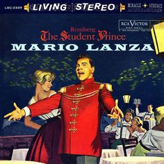Mario Lanza - The Student Prince by LP Cover Art, via Flickr
