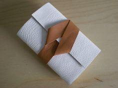 Pocket Sketchbook  Leather  White & Tan by SusanGreenBooks on Etsy, £12.00