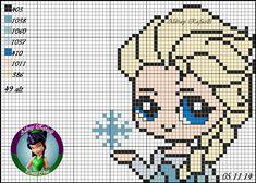 Elsa - Frozen pattern by Aldray Ferreira