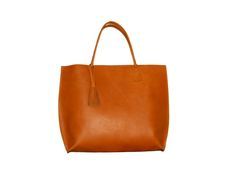Large Ginger Leather Tote
