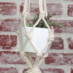 Tiered Macrame Planter