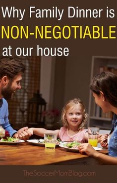 It might not be why you think! How regular family dinner can make your child more successful both academically and in the the workforce. Plus 8 ways to create meaningful family meals.