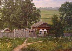 Домик в деревне, автор Andrey. Артклуб Gallerix