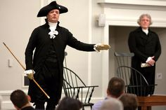 Breakfast with the George Washington, Thomas Jefferson, and James Madison February 16.