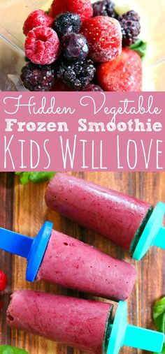 Delicious Hidden Veggie Smoothie Pops - Simply Today Life
