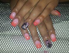Peachy And Cream by JHines via @nailartgallery #nailartgallery #nailart #nails #acrylic #bridal #holiday #trendy #gelpolish #youngnails