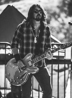Dave Grohl (Nirvana & Foo Fighters) - Just to throw a bit of tall dark and gruesome in the mix