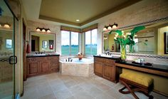 Toll Brothers Luxurious 5-Piece Master Bathroom to Truly Pamper Yourself
