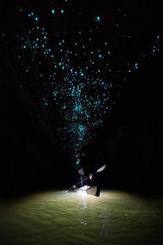 После 8 часов в пещере он взглянул на ее потолок. Никто не мог поверить в его фотографии.