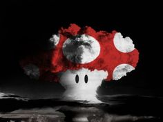 Super mushroom cloud.