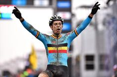 Wout Van Aert wins the 2016 UCI Cyclo-cross World Championships
