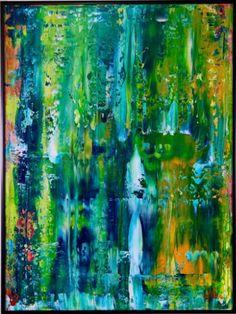 """Saatchi Art Artist Nestor Toro; Painting, """"Enchanted Spectra I-framed"""" #art"""