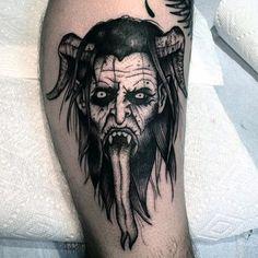 Arm Tattoo, Demon Tattoo, Creepy Tattoos, Face Tattoos, Horror Tattoos, Tatoos, Tatu Baby, Black Tattoo Art, Black And Grey Tattoos
