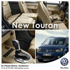 New Touran. For everyone and everything. The spacious interior, versatile seating combinations and multiple storage compartments give you room to be flexible and mean that you're always ready for anything. The New Touran's contemporary exterior is handsome, dynamic and sporty, clearly showing off the new face of Volkswagen, giving you a car that is both versatile and good-looking. website: http://besociable.link/4B #Volkswagen, #Oudtshoorn #Touran