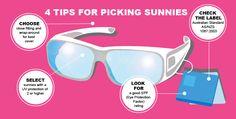 4 tips for choosing sunglasses | Bupa Optical