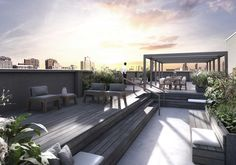 Luxury Gramercy & NoMad District Apartments for Sale, Roof Terrace