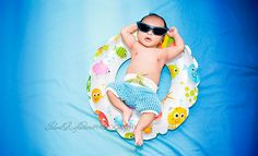 Newborn Surf Shorts Photo Prop/ Newborn Board Shorts/ Summer Newborn Prop/ Baby Boy Photo Prop