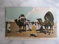 6380. Scénes et Types. Mariage Arabe. Les Fiancés.