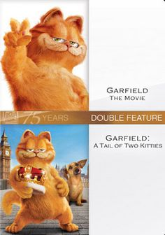 Garfield The Movie Garfield Tail Of Two Kitties Dvd Movie Garfield Tail Garfield The Movie Garfield Movies