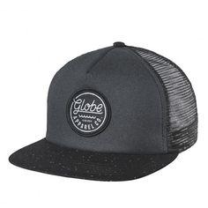 GLOBE Expedition Snapback casquette trucker noire 25,00 € #skate #skateboard…