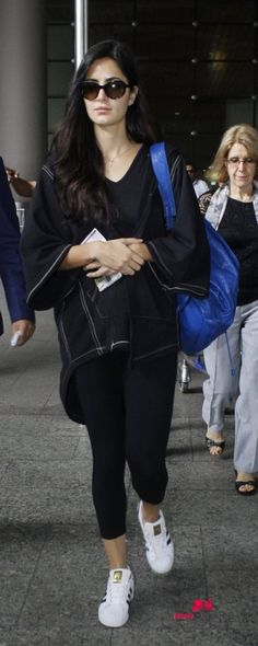 Katrina Kaif snapped at the airport as she arrives from London