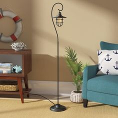 """You'll love the Evelynn 58"""" Arched Floor Lamp at Wayfair - Great Deals on all Lighting products with Free Shipping on most stuff, even the big stuff."""